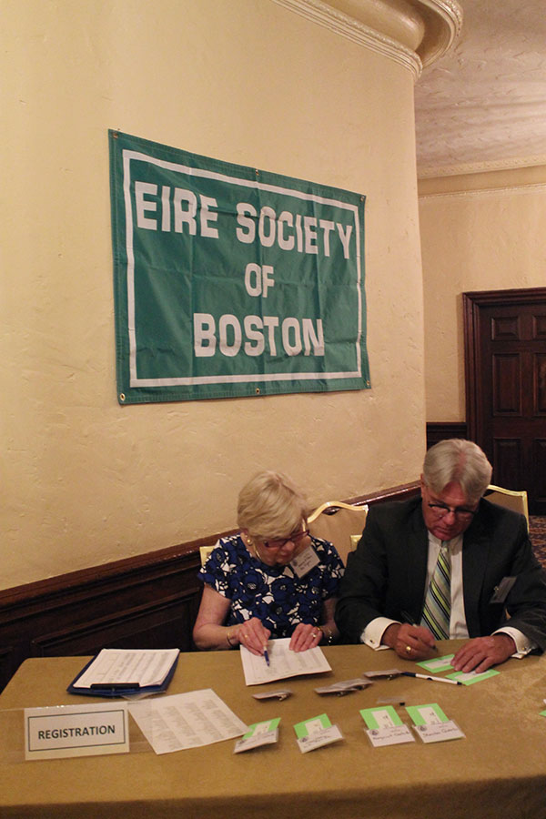 Eire Society Of Boston Gold Medal